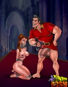 Xxx toon bdsm pics of stunning beauties forced to…