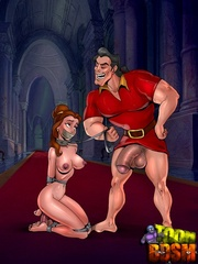 Xxx toon bdsm pics of stunning beauties forced to - Picture 1