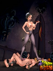 Xxx toon bdsm pics of stunning beauties forced to - Picture 2