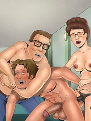Real cartoon couple spice up their sexual life with - Picture 2