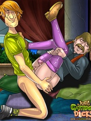 Sex starving cartoon petite gay dude wnaking - Cartoon Sex - Picture 2