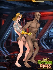 Naked cartoon guys can't stand their desire - Cartoon Sex - Picture 3