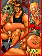Sex straving cartoon gay sticking his - Cartoon Sex - Picture 3