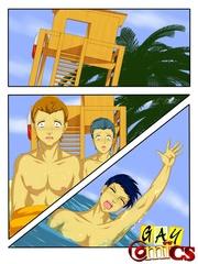 lucky cartoon gay dude