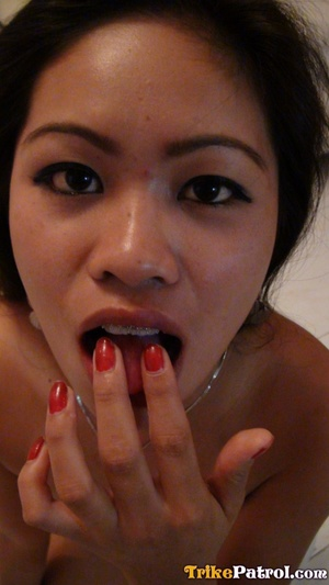 Drinking juice with stranger and driving insane Asian porn with him afterwards! - XXXonXXX - Pic 20