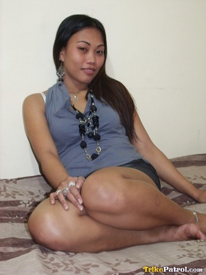 She is being an extremely lovely and spectacular Asian porn model! - XXXonXXX - Pic 1