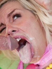 Blonde bitch can squirt massive - XXX Dessert - Picture 16