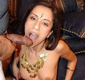 Slim small tit Indian dancer Aruna stuffs her&hellip;