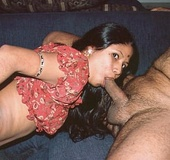 Indian small tit Botsy eagerly sucks a huge dick&hellip;