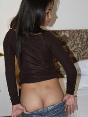 See what that comely tanned Asian xxx love is - XXXonXXX - Pic 8