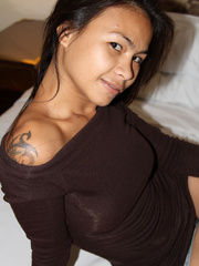 See what that comely tanned Asian xxx love is - XXXonXXX - Pic 9