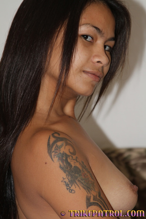 See what that comely tanned Asian xxx love is like! - XXXonXXX - Pic 15