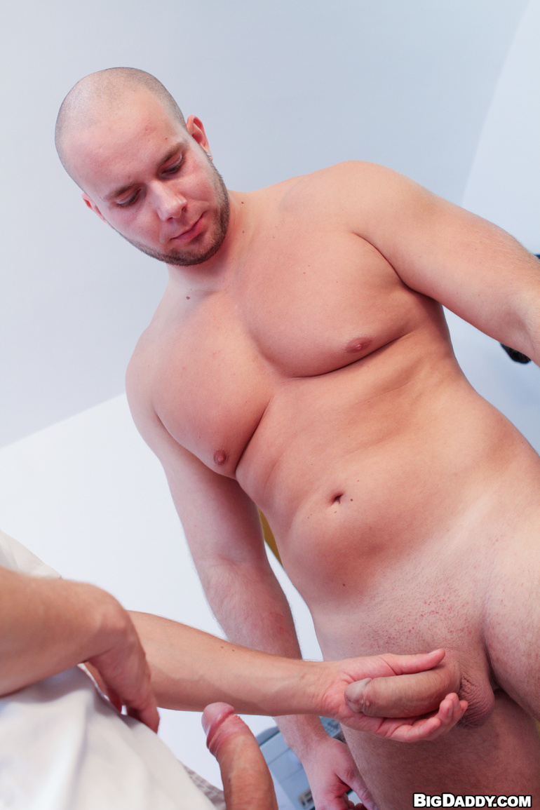 bald videos Gay porn