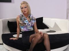 Sex hungry milf mistress taped her blonde - XXX Dessert - Picture 1