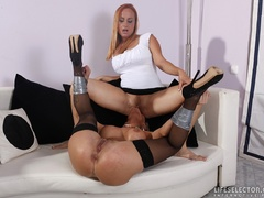 Sex hungry milf mistress taped her blonde - XXX Dessert - Picture 2