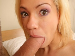 Blonde hottie gets her asshole stretched - XXX Dessert - Picture 13