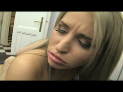 Blonde teen bitch gets her pooper stuffed - XXX Dessert - Picture 18