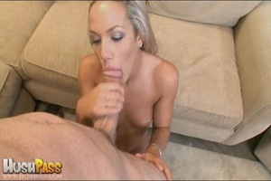 Blonde slut rubbing her cooch prior to s - XXX Dessert - Picture 13
