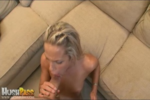 Blonde slut rubbing her cooch prior to s - XXX Dessert - Picture 16