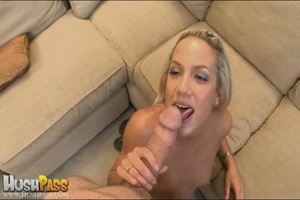 Blonde slut rubbing her cooch prior to s - XXX Dessert - Picture 18