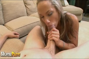 Blonde slut rubbing her cooch prior to s - XXX Dessert - Picture 22