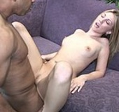 Blonde mom gets mouthful of hot jizz after fucking…
