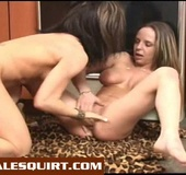 Xxx female ejaculation movie of young lesbian…