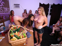 Senior students jeering fresh lesbian girls - XXX Dessert - Picture 3