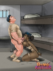 Big dick cartoon guy humiliates his - BDSM Art Collection - Pic 3