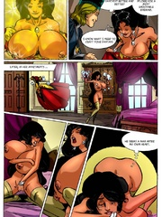 Horny dude pounding hard cartoon princess in doggy - Picture 3