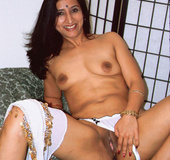 Dirty Indian Slut With Tiny Tits Shows Ass On Bed