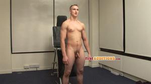 Naked gay workmen