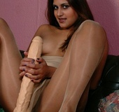 Brunette indian babe slowy pulls down her&hellip;
