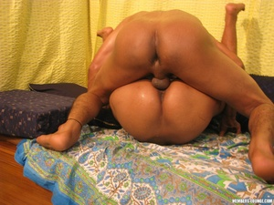 Amateur young indian hottie gets her hairy pussy banged by her boyfriend in all possible positions. - XXXonXXX - Pic 7