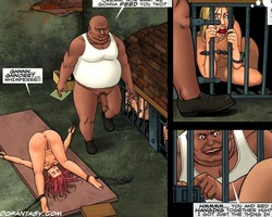 Tied up bdsm comics chicks are perfect - BDSM Art Collection - Pic 6