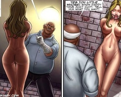 Poor naked blonde bimbo suffering - BDSM Art Collection - Pic 5
