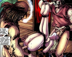 Enslaved bdsm art blonde gets her ass - BDSM Art Collection - Pic 3