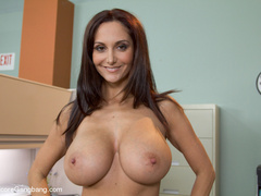 Tape bondaged busty secretary suffering - XXX Dessert - Picture 15