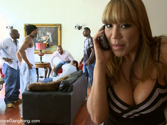 Blonde asian milf gets undressed and - XXX Dessert - Picture 1