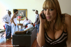 Blonde asian milf gets undressed and gan - XXX Dessert - Picture 1