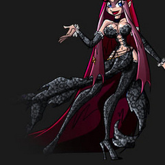 Magic toon warrior girls and witches teasingly posing - Picture 4