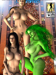 Perfect body adult comics nude chicks passionately - Picture 4