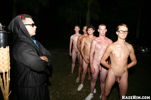 Newcomers get initiated into gay college community - XXXonXXX - Pic 2