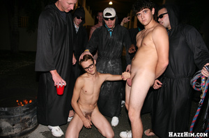 Newcomers get initiated into gay college community - XXXonXXX - Pic 4