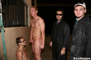 Newcomers get initiated into gay college community - XXXonXXX - Pic 12
