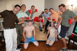 Cool gay students party starts in the hostel room - XXXonXXX - Pic 1