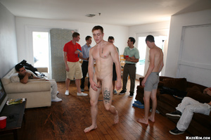 Cool gay students party starts in the hostel room - XXXonXXX - Pic 2