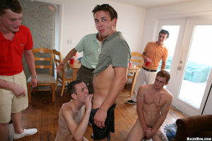 Cool gay students party starts in the hostel room - XXXonXXX - Pic 5
