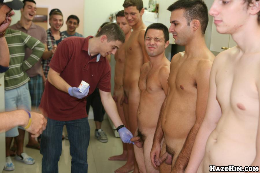 Naughty gay guys ass drilling