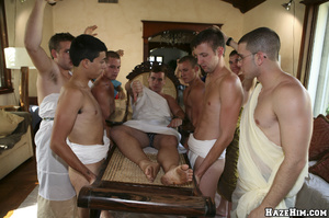 Naked guy get humiliated and forced cleaning floor before getting assfucked - XXXonXXX - Pic 6